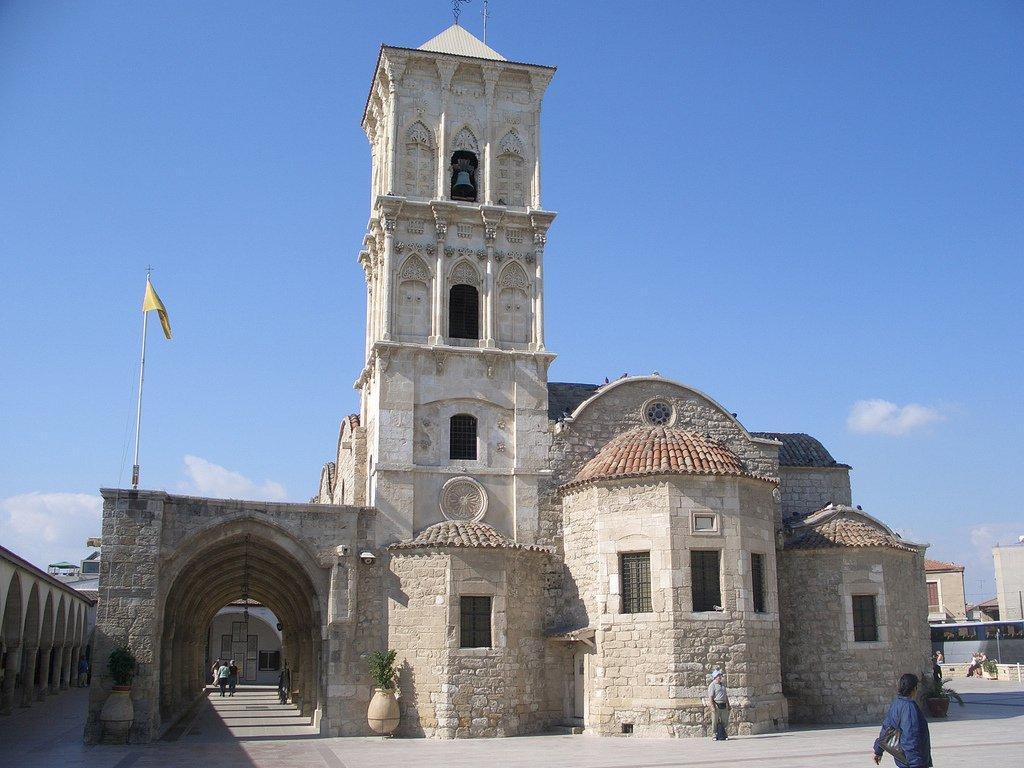 церковь св. Лазаря в г.Ларнака (Кипр)
