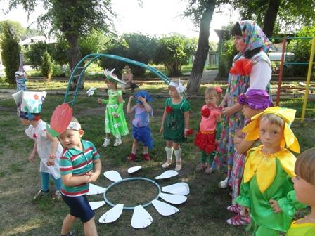 Сценарий праздника цветов в детском саду