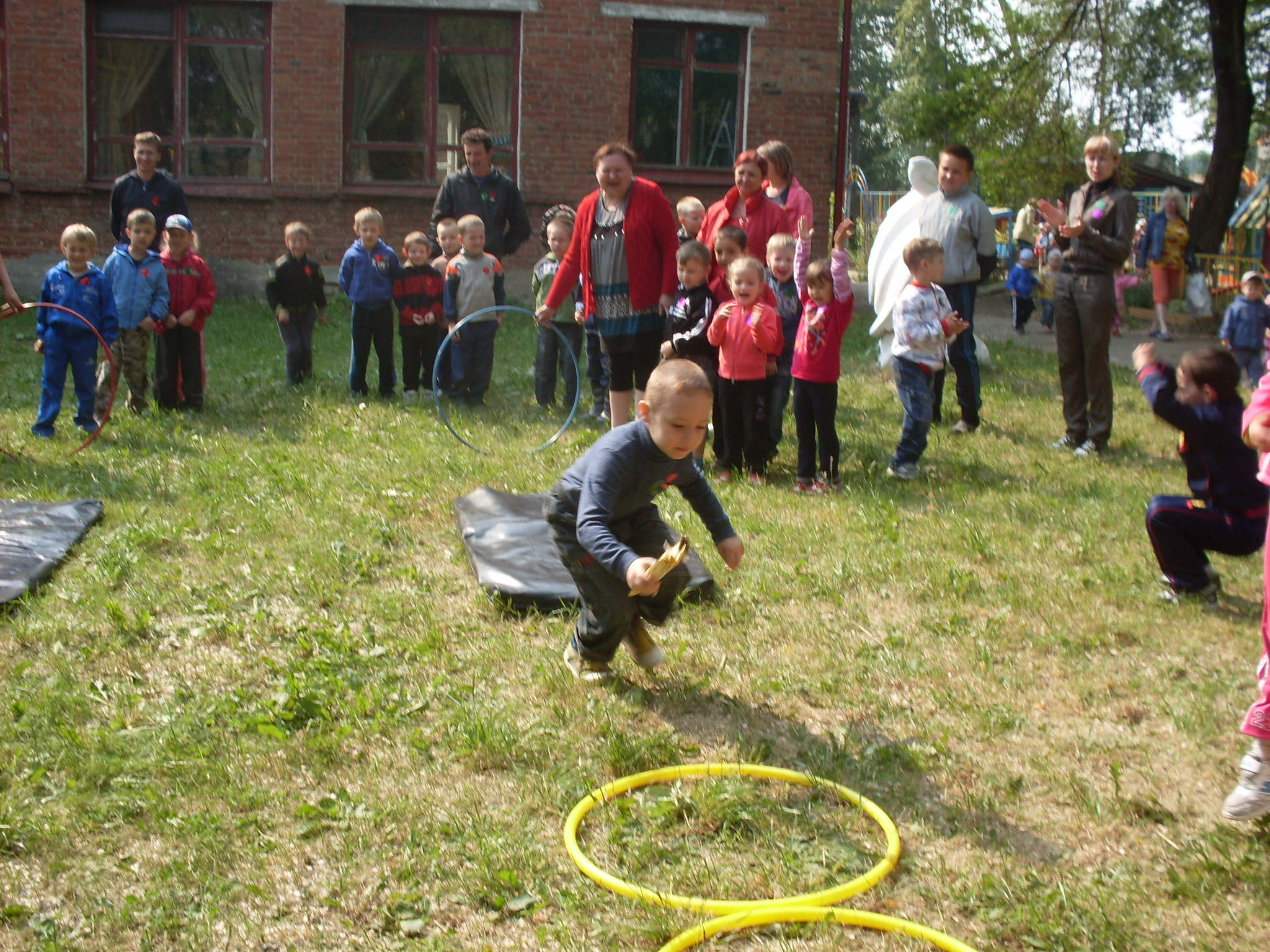 Спортивные конкурсы для сада