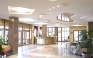 Рисунок 2. Холл гостиницы