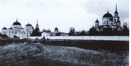 Панорама Ново-Тихвинского монастыря