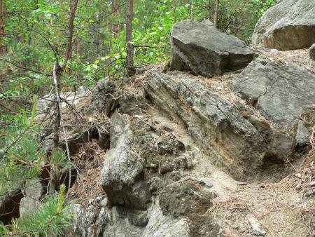 Рис. 3. Оброшинский рудник (фото Семеновой Н.А.)