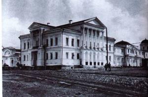 Общий вид главного дома усадьбы Расторгуева-Харитонова