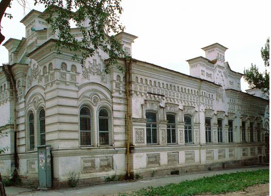 Усадьба М.М. Ошуркова