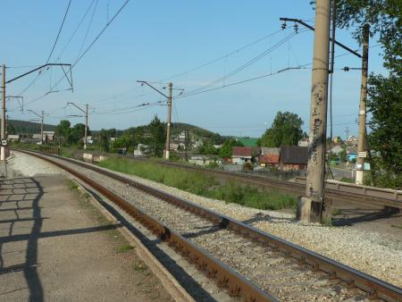 Рис. 4. Поселок Палкино (фото Семеновой Н.А.)