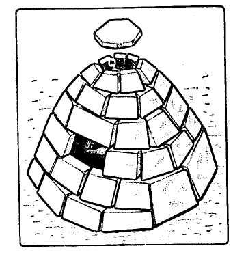 Рис. 8. Укрытие типа «иглу»