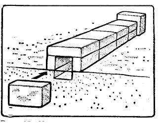 Рис. 11. Индивидуальное укрытие из снежного наста