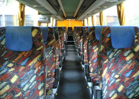 Рисунок 2. Салон автобуса