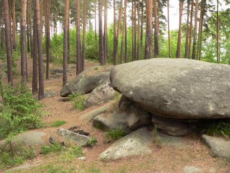 Рис. 14. Палкинские каменные палатки (фото Семеновой Н.А.)