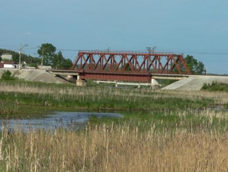 Рис. 27. Железнодорожный мост через реку Исеть (фото Семеновой Н.А.)