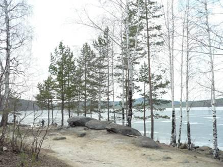 Рис. 7. Озеро Песчаное (фото Барабановой О.Ю.)