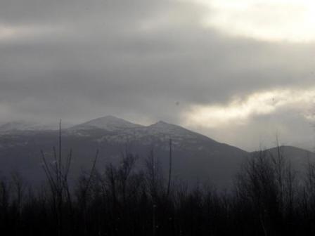 Рис. 56. Вершины Первый, Второй и Третий Бугры (фото Слепухина А.В. и Бердюгиной Н.)
