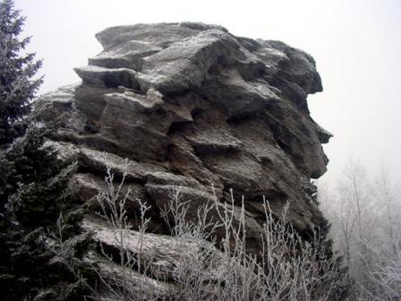 Рис. 63. Старик-Камень (фото Слепухина А.В. и Бердюгиной Н.)