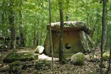 Рис. 3. Дольмен с рисунком, Пшада, Геленджик, Россия (фото с сайта http://megalith.ru)