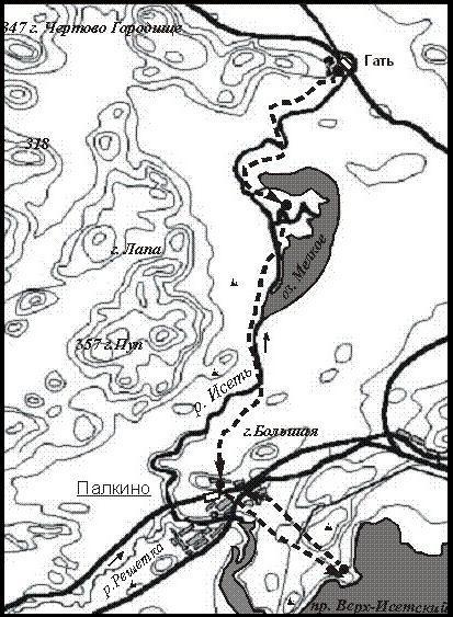 «Верховья реки Исети»;